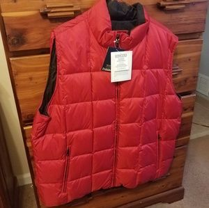 Reversable goose down Lands End Vest